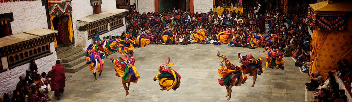 Jonathan Taee - Mongar Dzong Tshechu Dancers, Bhutan