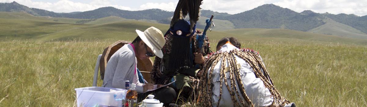 Elizabeth Turk - A Shaman Initiate, Ulaanbaatar