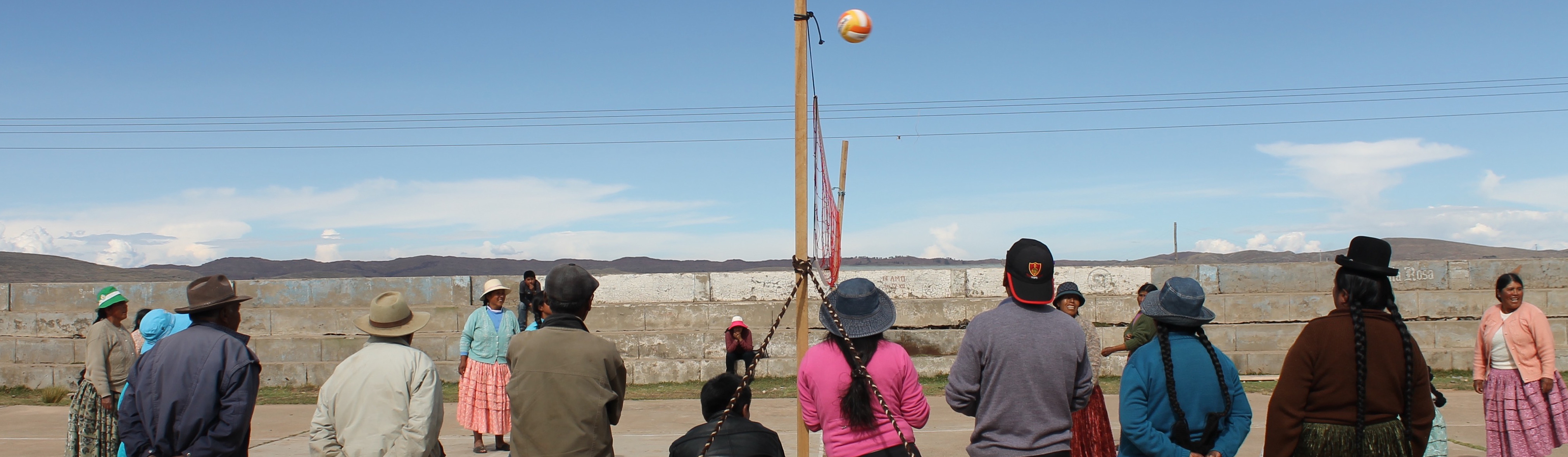 Spectating in the Southern Peruvian Andes (Corinna Howland, 2017)