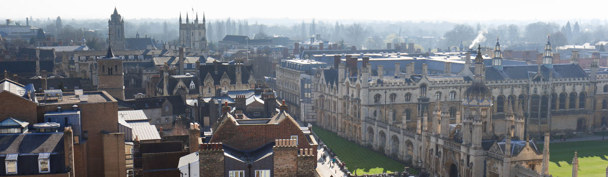 Cambridge skyline