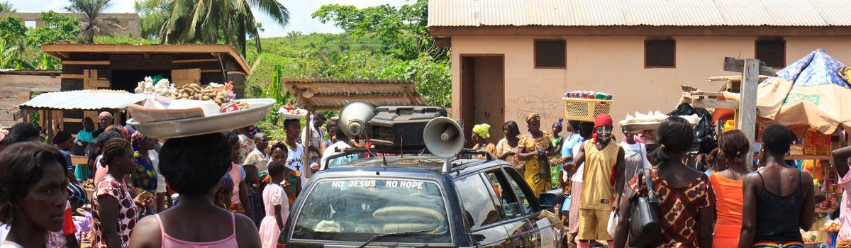 Jukwa market, Ghana