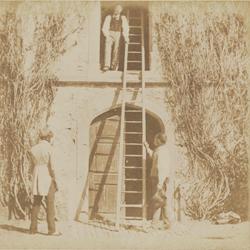 The Ladder, William Henry Fox Talbot, 1844, (Getty)