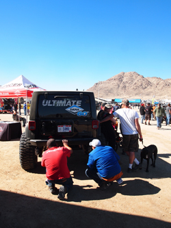 The King of the Hammers, an annual all-terrain vehicle competition (Michael Vine, 2016)