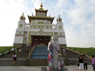 The biggest monastery in Europe - The Golden Monastery of the Buddha Shakyamuni (Baasanjav Terbish, 2013)