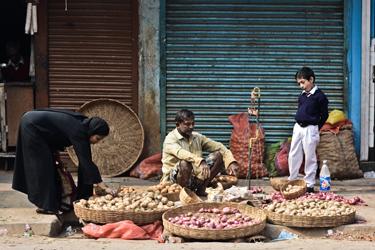 Micro-economics on the street (John Fahy, 2013)