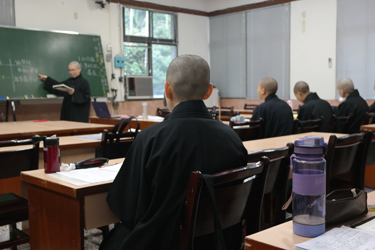 Novice nuns in class in Chiayi, Taiwan (Nancy Chu, 2016)