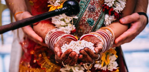 Wedding Yajna, West Bengal (credit: John Fahy)