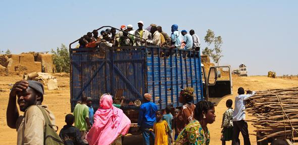 Mopti Street Transport, Africa